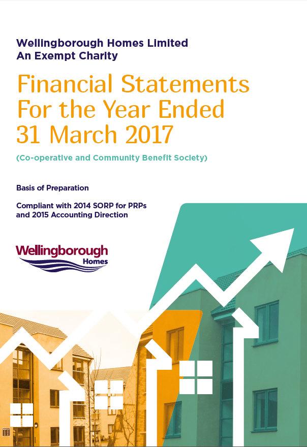 financial report cover wellingborough homes