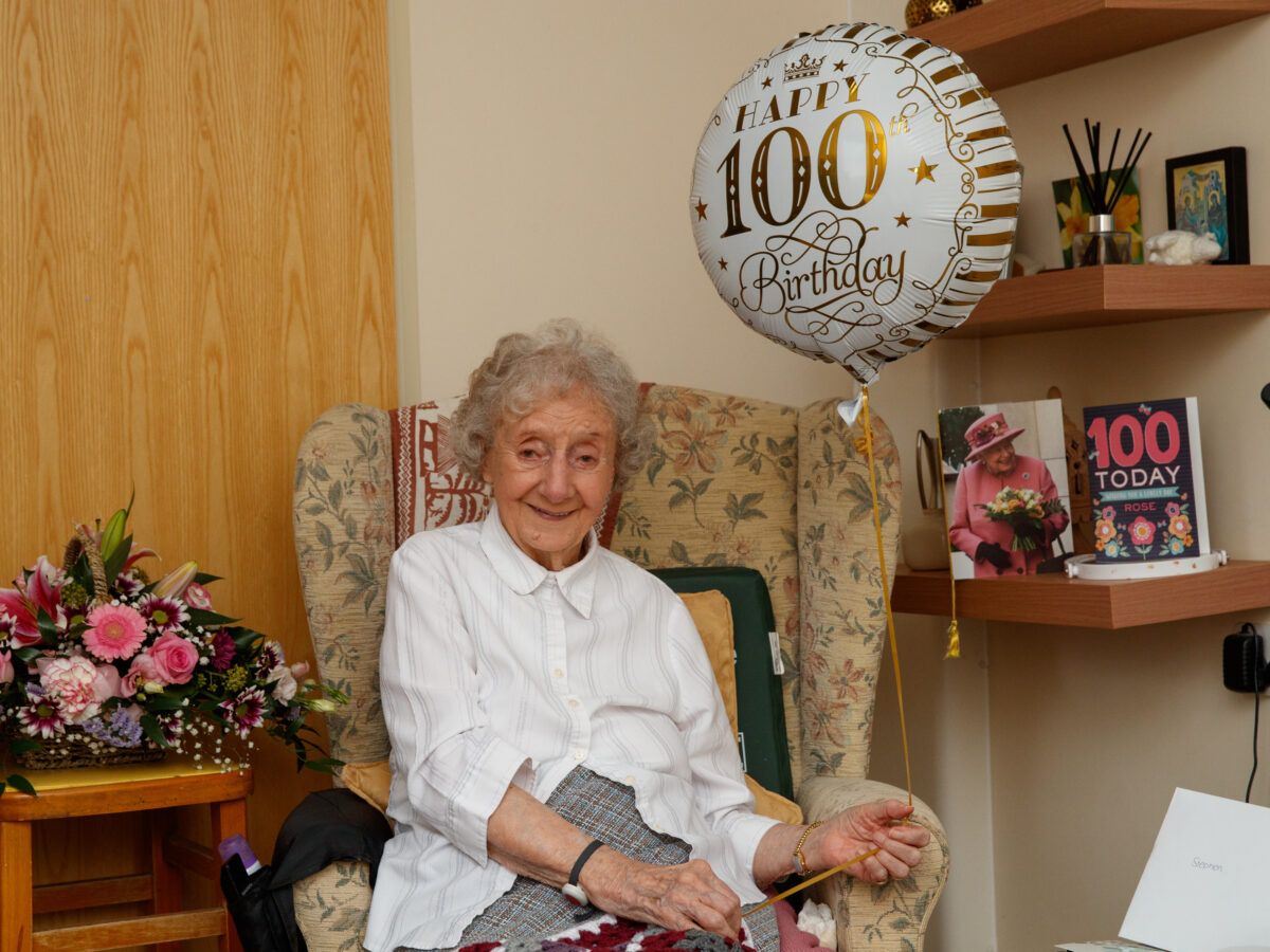 Rose celebrates her 100th birthday in accommodation she once worked as a warden featured image