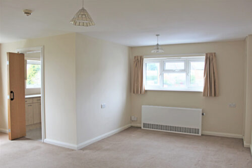 Accommodation with support - Living room